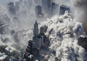 Фотогалерея: Взгляд с небес. Уникальные фото теракта 11 сентября