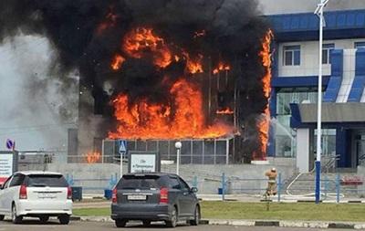 В России горел аэропорт