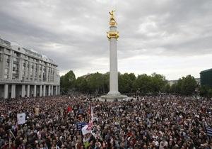 Грузинский парламент ограничил проведение манифестаций