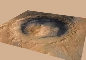 NASA вычислило точное положение Кьюриосити
