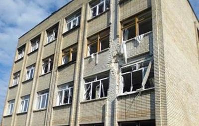 В Красногоровке под обстрел попала школа