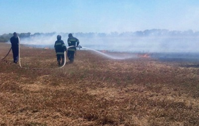 Генштаб остановил учения из-за пожара на полигоне