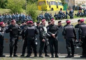 МВД: Милиция не допустила грубых нарушений общественного порядка во Львове