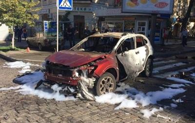 Убийство Павла Шеремета: фото аварии