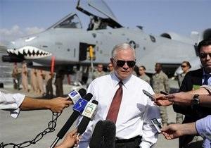 Глава Пентагона неожиданно прибыл в Афганистан