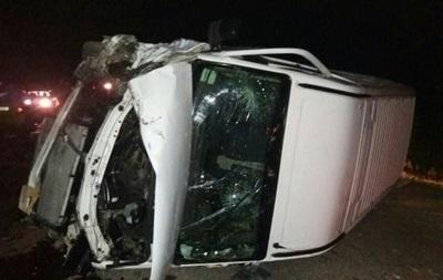 В ДТП под Львовом пострадали семь человек