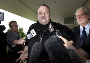 Новозеландский суд отпустил под залог основателя портала Megaupload