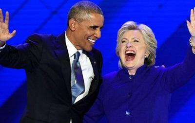 Обама назвав Клінтон найкращим в історії кандидатом в президенти