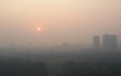 Забруднення повітря у Києві перевищує норму