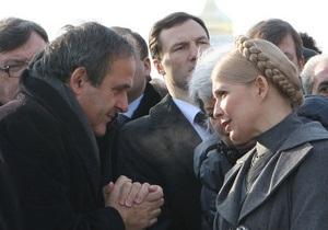 Дело Тимошенко: президент УЕФА написал ответное письмо европейским политикам