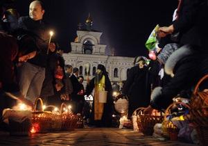 В Пасхальную ночь в храмах Украины будут дежурить 10 тысяч спасателей