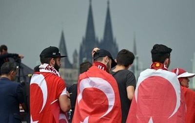 В Кельне стартовали акции противников и сторонников политики Эрдогана