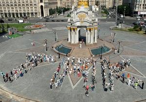 Фотогалерея: Протест ради протестов. Украинцы встали на защиту свободы собраний