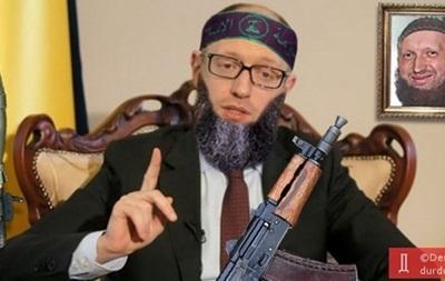 Меткое оружие. Украинские политики боятся юмора