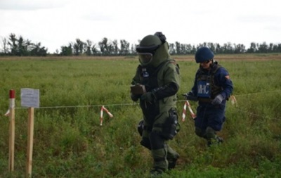 На Донбас скерували обладнання НАТО для розмінування