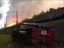 Во Львове произошел пожар в поезде