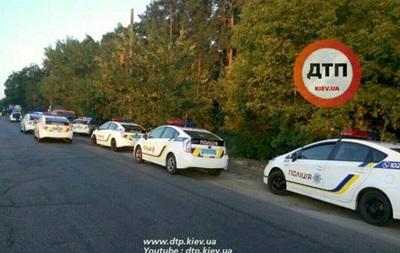 В Киеве восемь патрульных авто устроили погоню