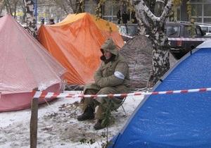 Донецкий суд запретил чернобыльцам проводить акцию протеста  из-за угрозы терактов