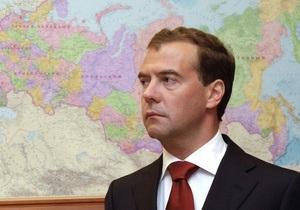 Медведев начал свой визит в КНР