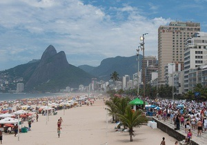 В Рио-де-Жанейро изнывают от аномальной жары
