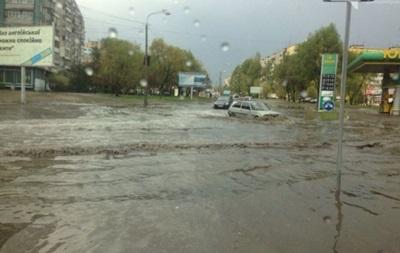 Непогода обесточила половину Днепропетровщины