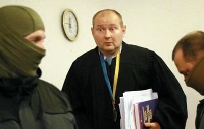 Судья Чаус не явился на допрос
