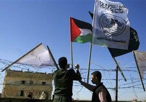 Иностранные правозащитники устроили беспорядки на границе сектора Газа