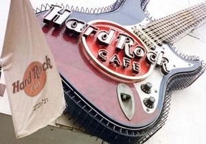 В Киеве откроют Hard Rock Cafe