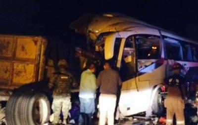 В Мексике восемь человек погибли в ДТП