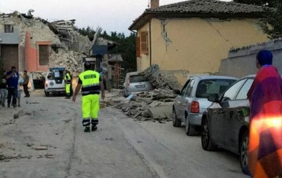 Землетрус в Італії: не менше шести загиблих
