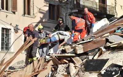 Землетрясение в Италии: десятки погибших