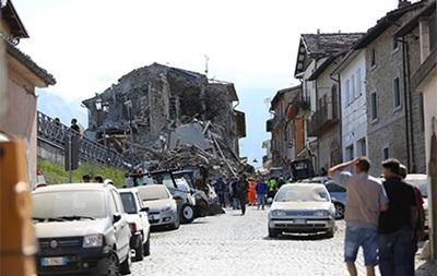 В Италии произошло новое землетрясение