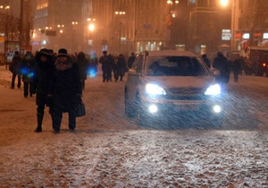 Минтранс Украины: поезда задерживаются, дороги заснежены
