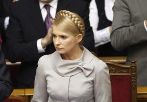 Тимошенко надеется, что Венецианская комиссия признает решение КС  неправомерным