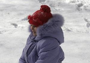 В Украине из-за морозов закрывают школы