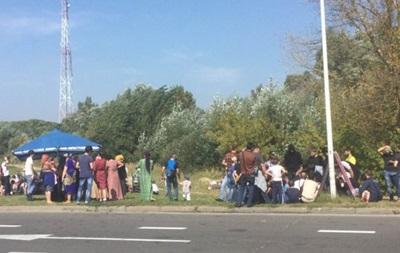 Полторы сотни чеченцев разбили лагерь у белорусско-польской границы
