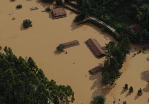 Жертвами наводнений в Бразилии стали 665 человек