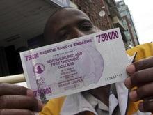Центральный банк Зимбабве выпустил банкноту в 10 миллионов