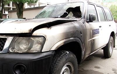 Поджигателю авто ОБСЕ грозит до десяти лет