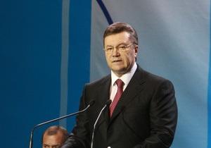 Источник: Янукович на сессии ПАСЕ не планирует говорить о Голодоморе