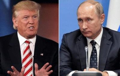 Трамп: У мене будуть хороші відносини з Путіним