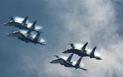 Російські винищувачі перехопили літаки США