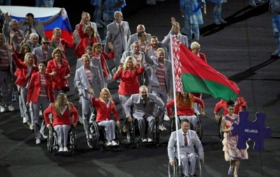 Белорусы вышли на Паралимпиаду с российским флагом