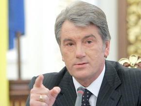 Ющенко: Тимошенко не контролирует ситуацию