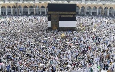 Больше миллиона мусульман собираются на хадж в Саудовской Аравии
