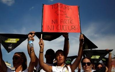 В Испании тысячи людей вышли на митинг против корриды