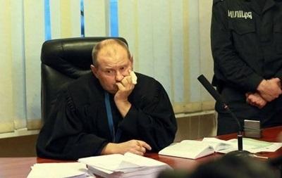 Суд разрешил задержать судью Чауса