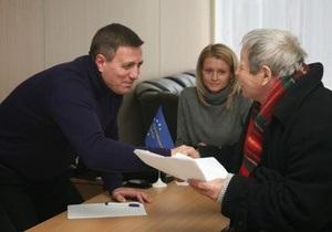 Катеринчук - оппозиция - новости Киева - выборы мэра Киева - Катеринчук выставил свою кандидатуру на пост мэра Киева и обратился к оппозиции