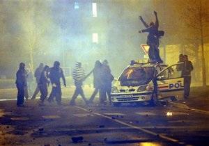 На севере Франции произошли массовые беспорядки