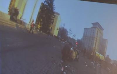 Дело Майдана: обнародовано новое видео с камер